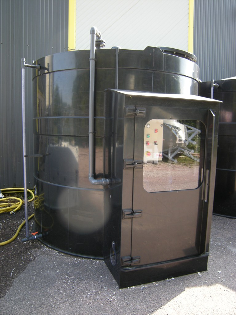 Station de fabrication de saumure